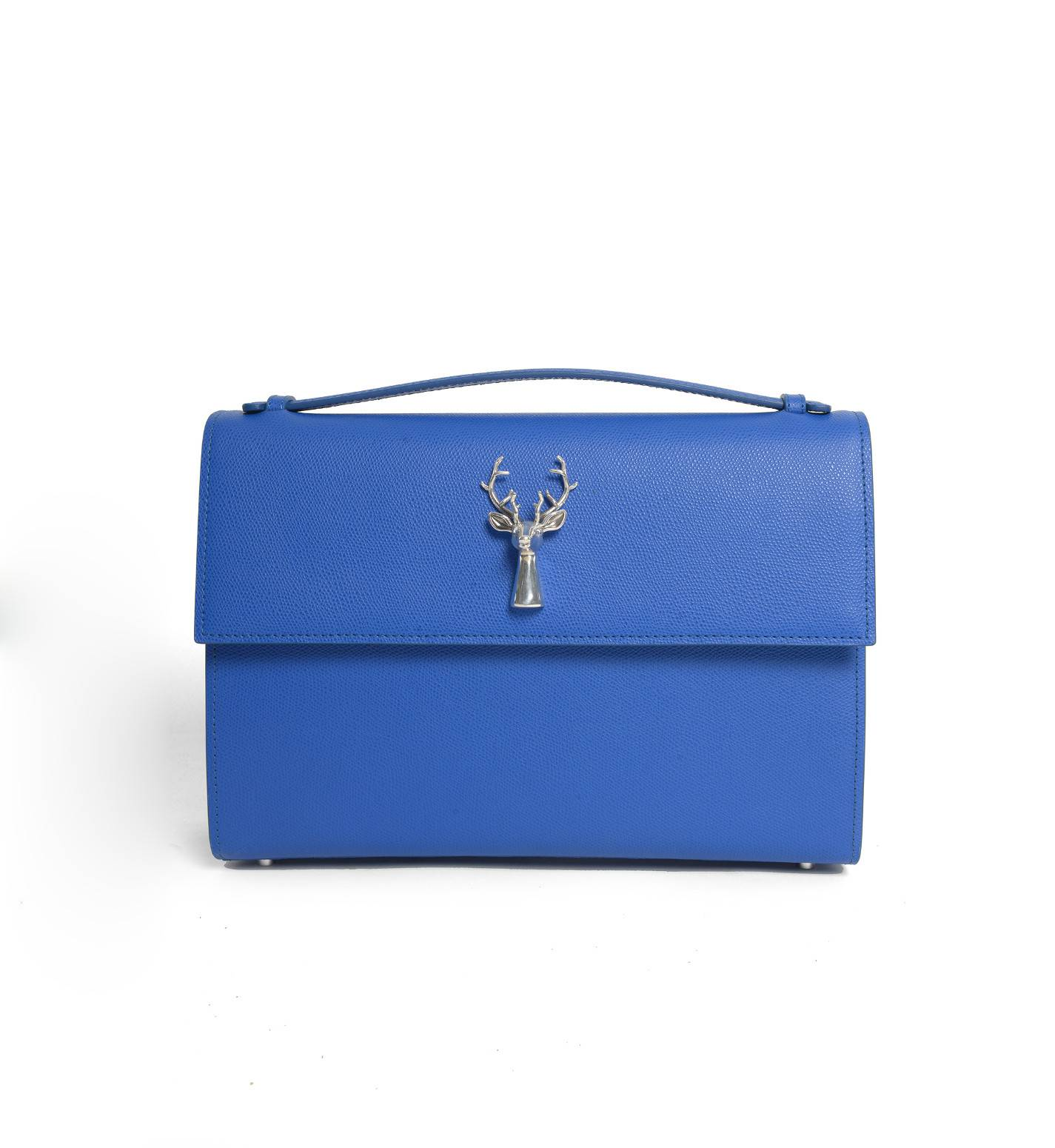 Filippa Bag in Ischia Blue Leather