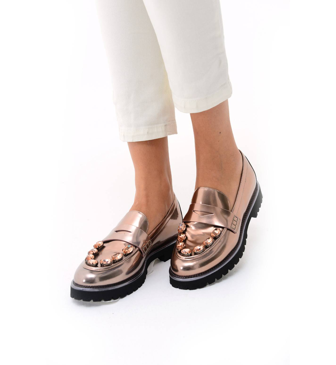 1893f16bcde Lemat loafers cardinal fashion boutique jpg 1425x1550 Rose gold loafers